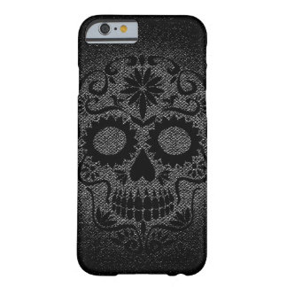 Skull Black and Grey iPhone 6/6s case
