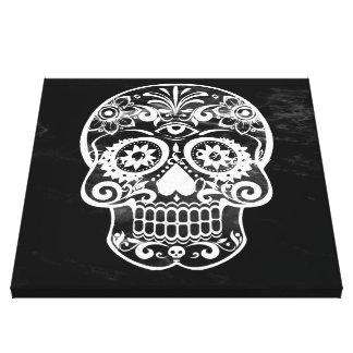 Skull,black and white 04 canvas prints