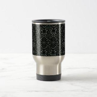 Skull Black Bandanna Stainless Steel Travel Mug