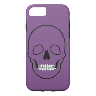 Skull black iPhone 8/7 case
