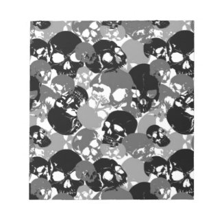 Skull Black&White Notepads
