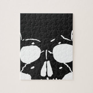 Skull Bone Bones Skeleton Skeletal Creepy Spooky Jigsaw Puzzle