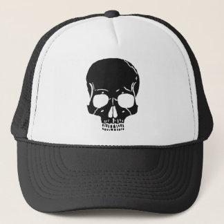 Skull Bone Bones Skeleton Skeletal Creepy Spooky Trucker Hat