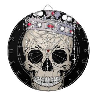 Skull Bone Frame Halloween Horror Crown Dartboard