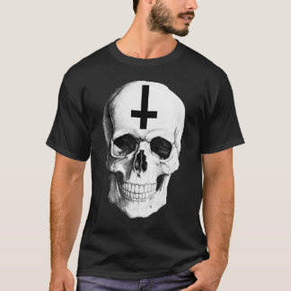 Skull Bone Men's Basic Dark T-shirt