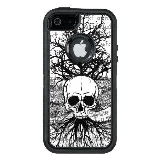 {{{ skull & books }}} OtterBox iPhone 5/5s/SE case
