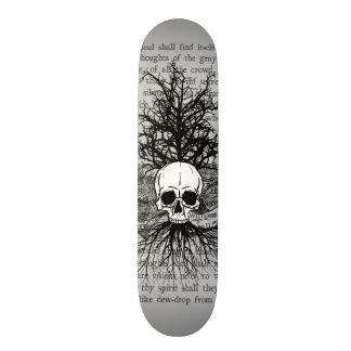 Skull & Books Skateboard