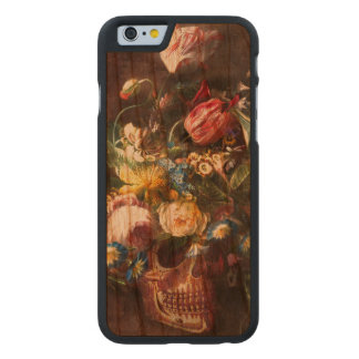 Skull Bouquet Carved® Cherry iPhone 6 Slim Case