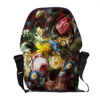 Skull Bouquet Commuter Bags