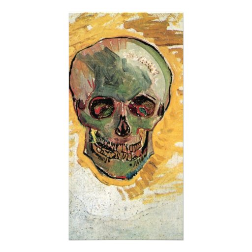 Skull by Vincent van Gogh Photo Card Template