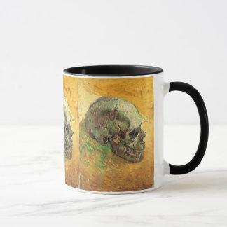 Skull by Vincent van Gogh, Vintage Impressionism Mug