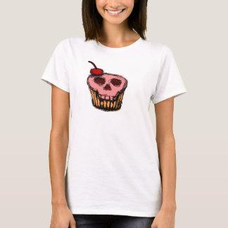 Skull cake with cherry T-Shirt