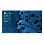 Skull, CALAVERA Plantillas De Tarjetas De Visita