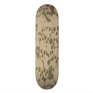 Skull Camouflage 21.6 Cm Old School Skateboard Deck