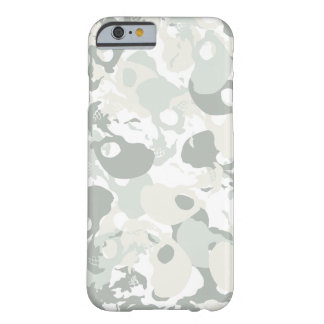 Skull camouflage barely there iPhone 6 case