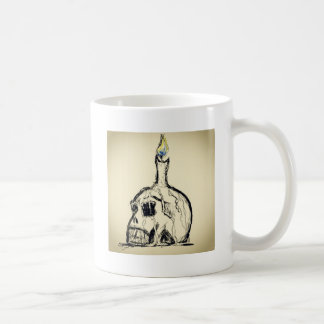 Skull Candle (Samsung Galaxy Note 2 Sketch) Coffee Mug