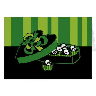Skull Candy Box Card