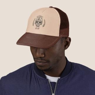 Skull cap/Skull Quebec rocker - color choice Trucker Hat