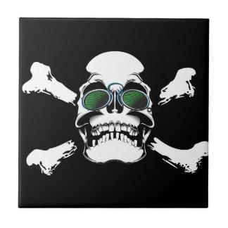 Skull Ceramic Tile