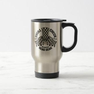 Skull Check Head Gear Coffee Mug