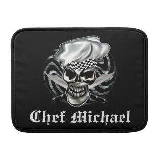 Skull Chef Mac Book Air Sleeve MacBook Sleeve