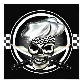 Skull Chef Photo Print