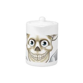 Skull Chef Pirate Cartoon