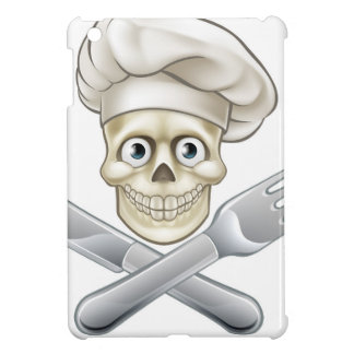 Skull Chef Pirate Cartoon Cover For The iPad Mini