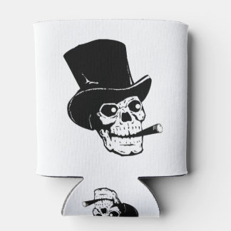 Skull Chiller Coozy Can Cooler