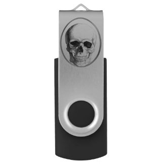 Skull Circle USB Drive