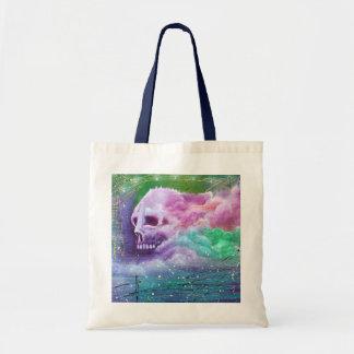 Skull Cloud Budget Tote Bag