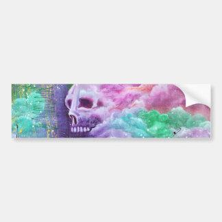 Skull Cloud Fantasy Bumper Sticker