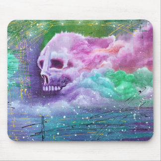 Skull Cloud Mouse Pads