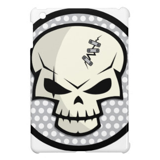 SKULL-COIN CASE FOR THE iPad MINI