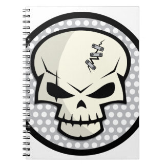 SKULL-COIN NOTEBOOK