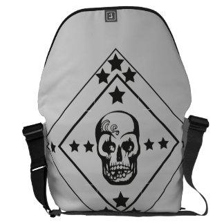 Skull Commuter Bag