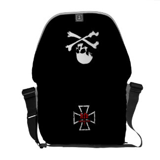 skull courier bags