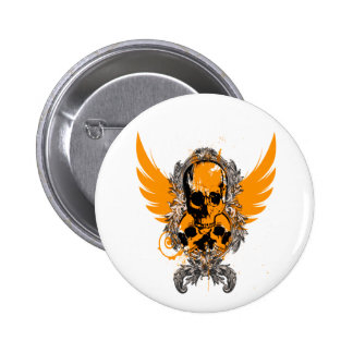 Skull Crest - Customized Buttons