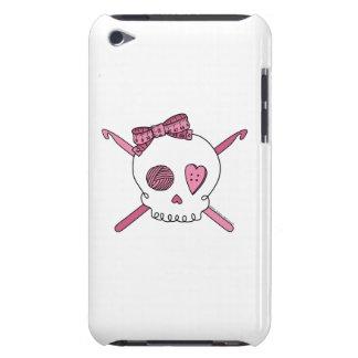 Skull & Crochet Hooks (Pink) Case-Mate iPod Touch Case