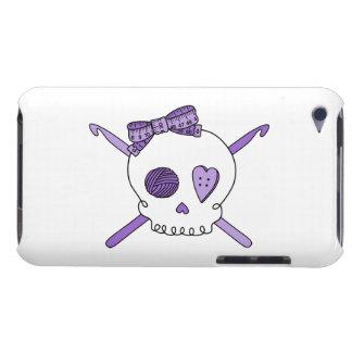Skull & Crochet Hooks (Purple) iPod Touch Cover