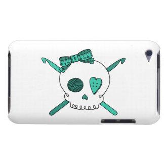 Skull & Crochet Hooks (Turquoise) iPod Touch Cover