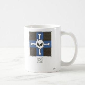 Skull & cross coffee mug