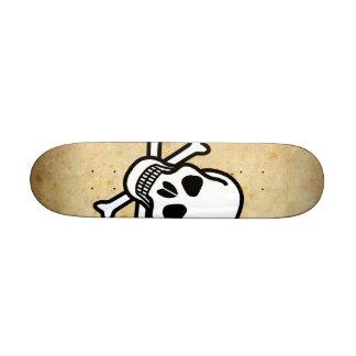 Skull & Crossbone Skateboard Mini