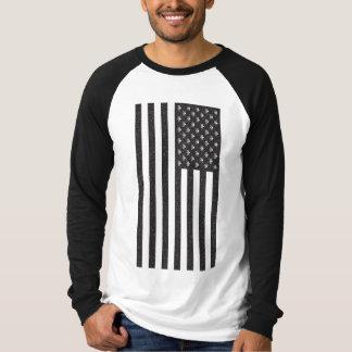 Skull & Crossbones American Flag T-Shirt