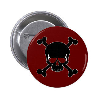 Skull & Crossbones Button
