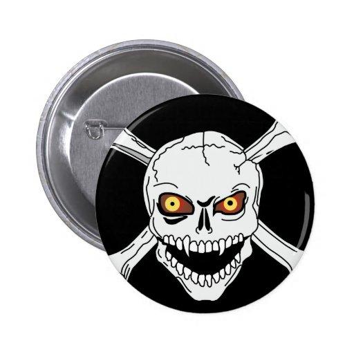 Skull & Crossbones - Button