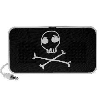 Skull & Crossbones Doodle Mini Speaker