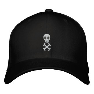Skull & Crossbones Embroidered Hat