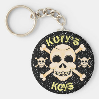 Skull & Crossbones Key Chain