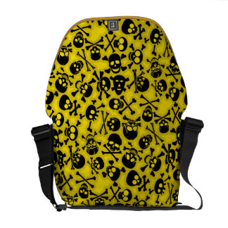 Skull & Crossbones Pattern Courier Bags